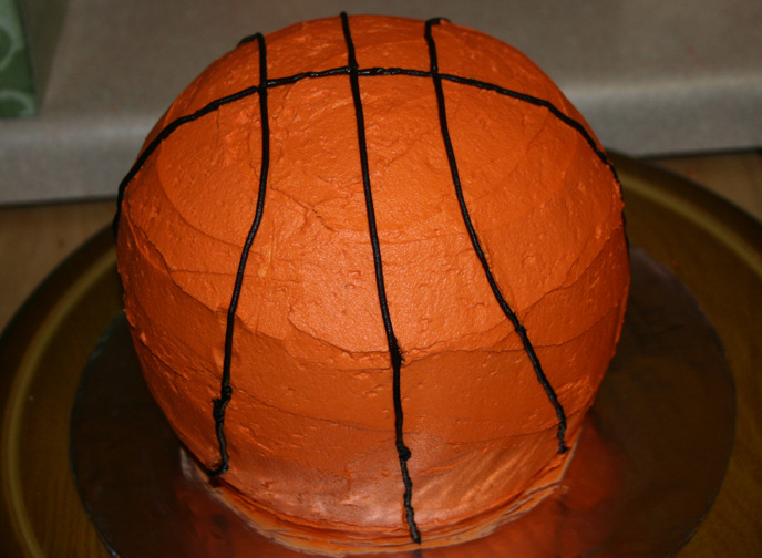 basketball cake 21008 life with three boys and a splash of purple