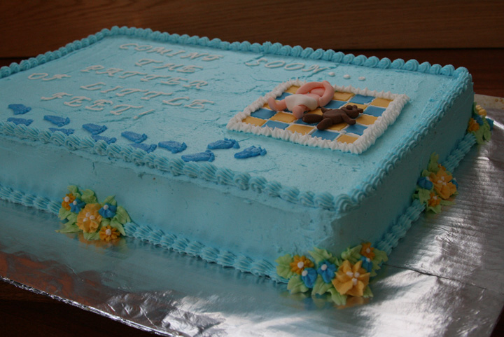 Captivating Baby Shower Cake 3b 3 23 08