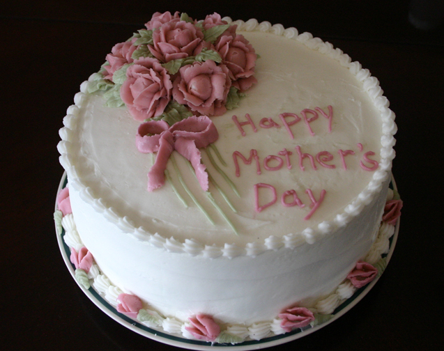 Cake Decoration Mothers Day : Mother s Day cake 4-24-07 life with three boys and a ...