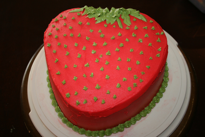 Strawberry Cake Life With Three Boys And A Splash Of Purple