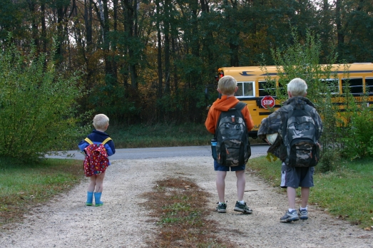 Bus boys