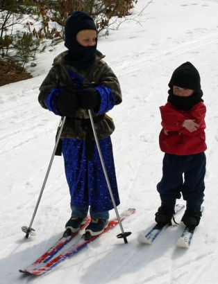 2011 spring skiing brothers