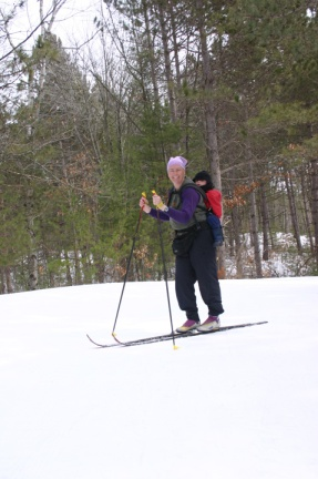 2011 spring skiing w Henry