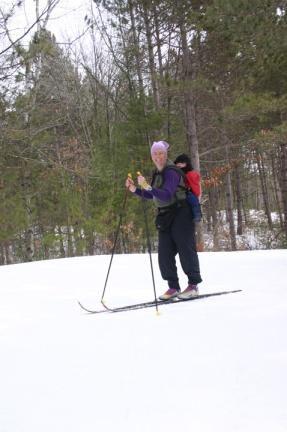 2011 spring skiing w Henry