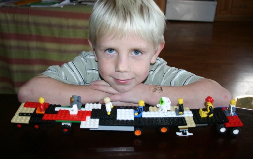 Legos Charlie a