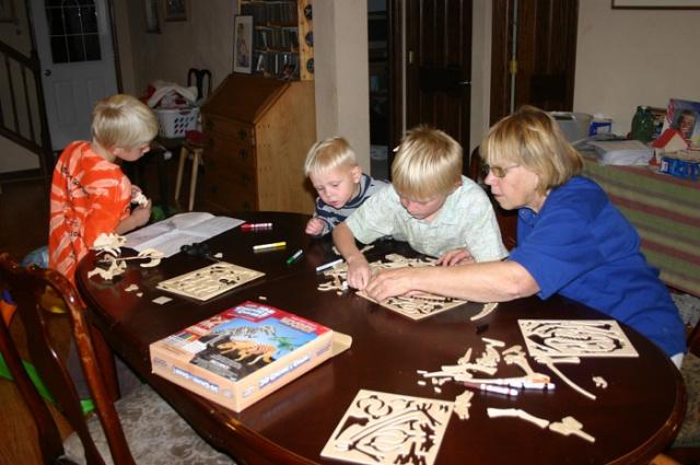 Hanna dino puzzles