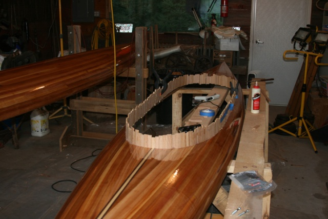 Kayak glued