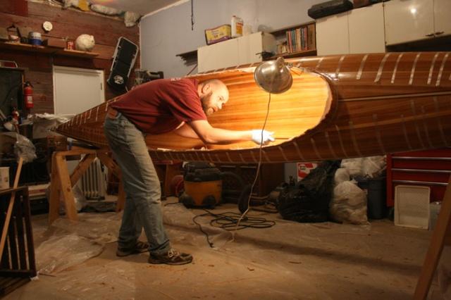 Kayak inside