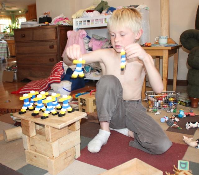 Legos Robbie' robots