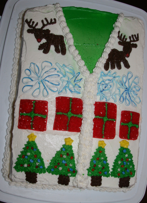 Cake Ugly Sweater