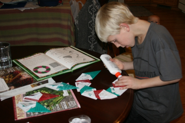 Charlie Origami wreath