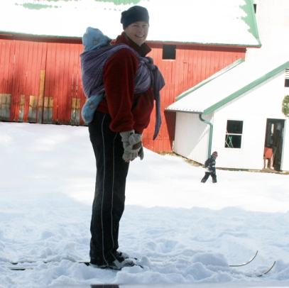 First ski - ready