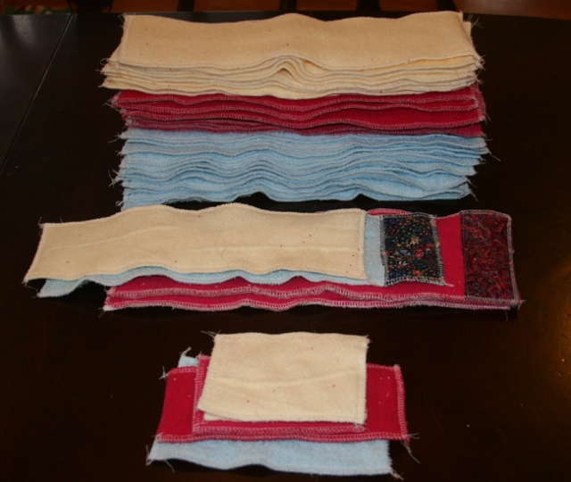 sewing cloth liners