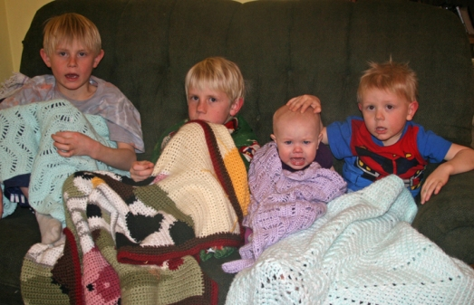 Aunt Chris blankets