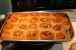 cold morning cinnamon buns