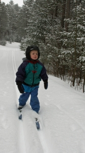 Henry skiing Jan 25th