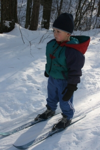Henry skiing Jan 7th
