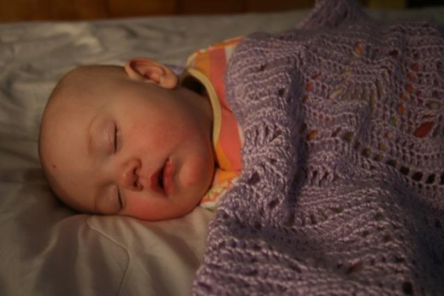 Nola Mae sleeping