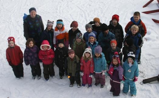 Ski class 2013