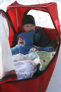ski sled Henry & Nola Mae