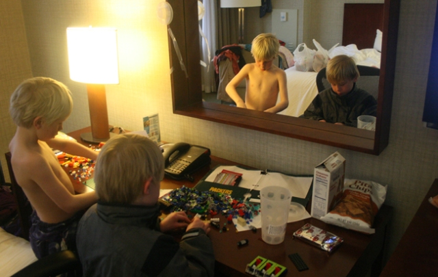 chicago hotel legos