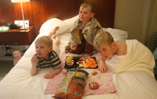 chicago hotel snack time