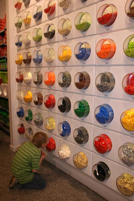 Lego Store Lego wall