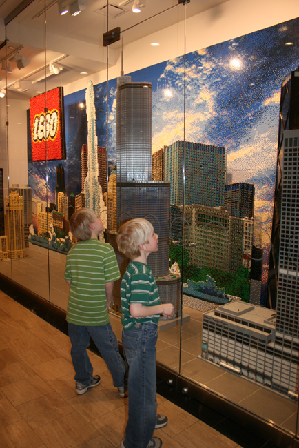 Lego Store outside