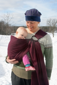 Ring Sling DIY Plum