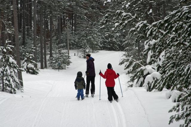 Skiing w Becca 1