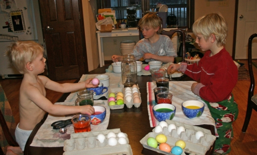eggs coloring 2013