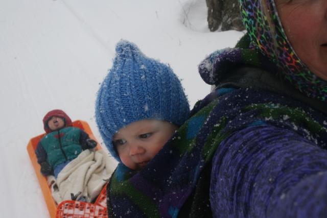 snowshoe 7 sled