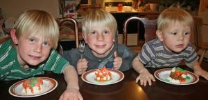 b-day cupcake boys