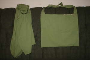 ring sling and bag