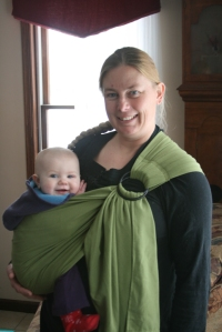 ring sling w 10 mo old