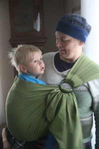 ring sling w 3 yr old