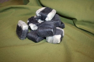Soap felted