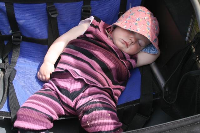 stroller 1st ride nap