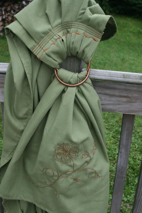 ring sling green