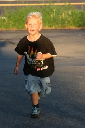 Henry running