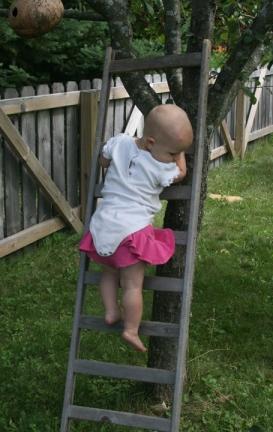 Nola Mae ladder