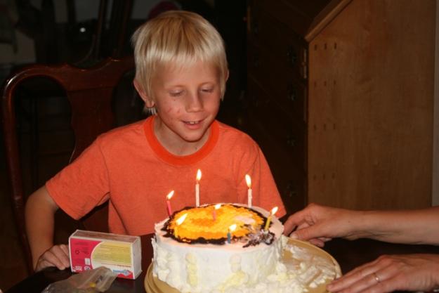 Charlie's b-day cake
