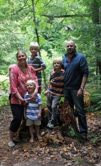 Eau Claire Dells Family 2013