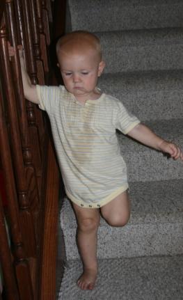 Nola Mae stairs