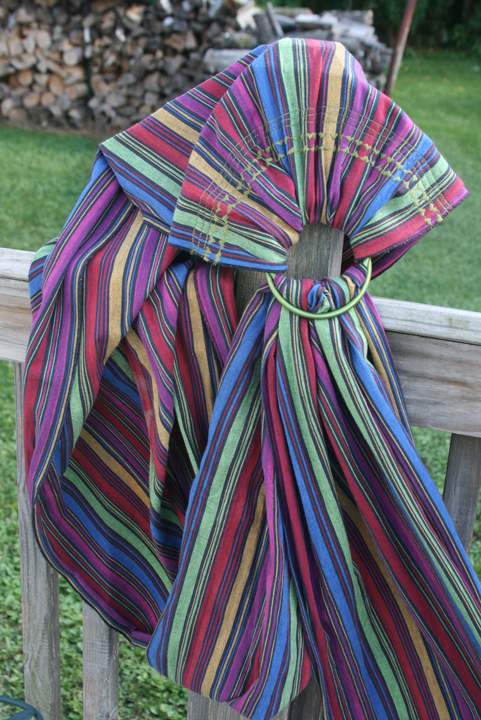 ring sling narrow stripes