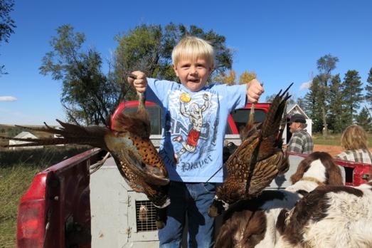 ND Henry w birds