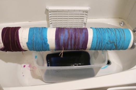 dye PVC towels