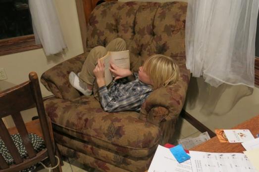 Reading Robbie