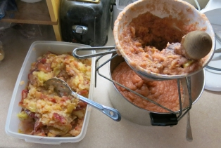 apple sauce in progress 2013