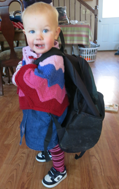 Nola Mae back pack